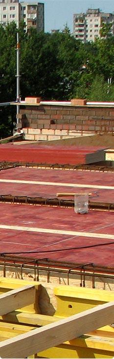 Monolithic reinforced concrete